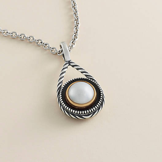 View Larger Image of Marjan Pendant with Cultured Pearl