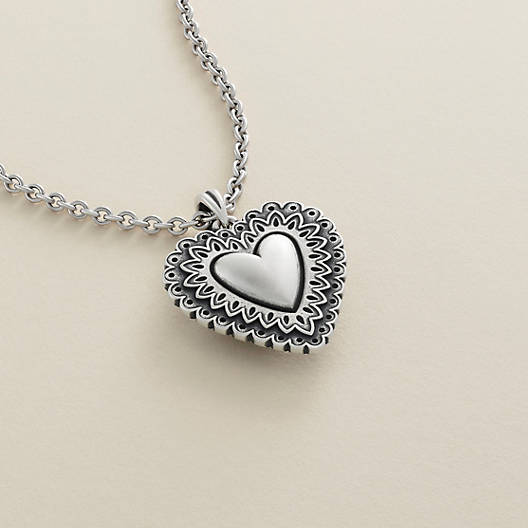 View Larger Image of Victorian Heart Pendant