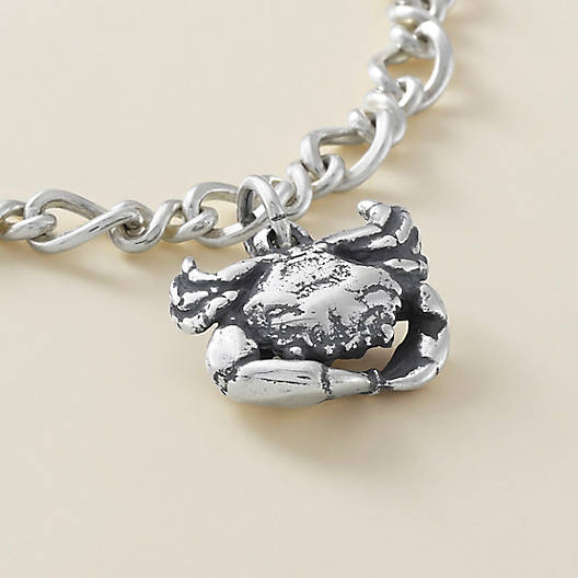 View Larger Image of Gulf Crab Charm