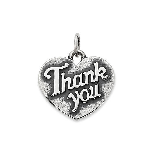 """View Larger Image of """"Thank You"""" Charm"""