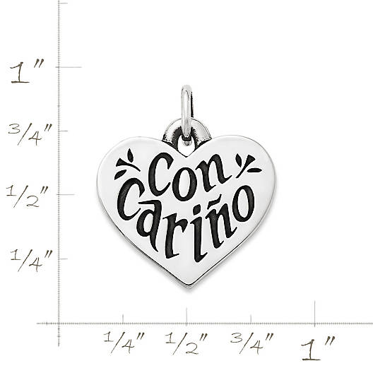 """View Larger Image of """"Con Carino"""" Charm"""