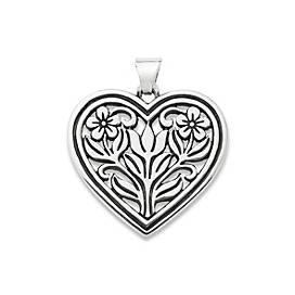 Heart In Bloom Pendant
