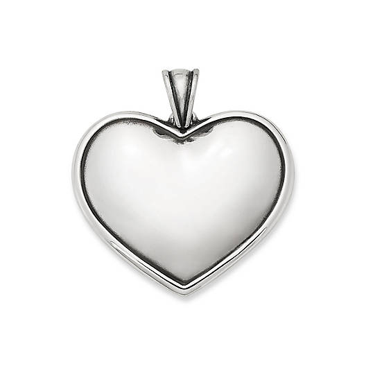 View Larger Image of Engravable Heart Pendant