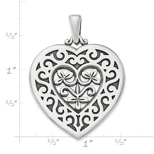 View Larger Image of Spanish Heart Pendant
