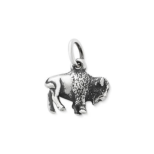 View Larger Image of American Bison Charm