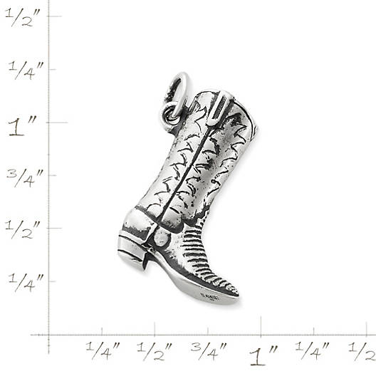 View Larger Image of Western Boot Charm