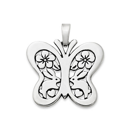 View Larger Image of Lapin Butterfly Pendant