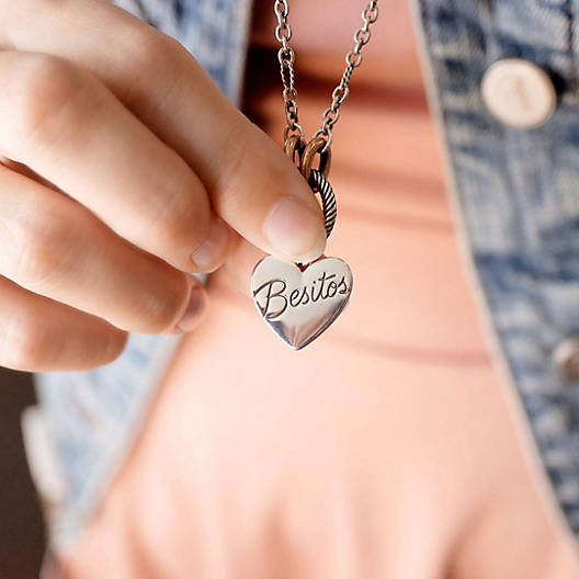 "View Larger Image of ""Besitos"" Charm"