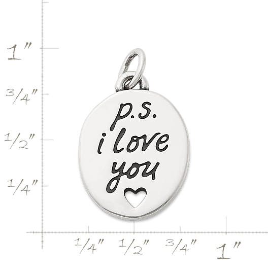"View Larger Image of ""P.S. I Love You"" Charm"