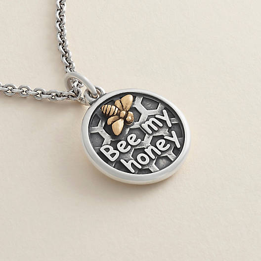 "View Larger Image of ""Bee My Honey"" Charm"