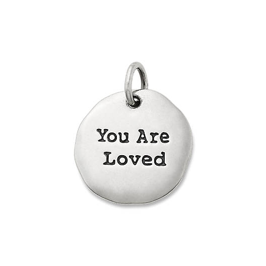 "View Larger Image of ""You Are Loved"" Charm"