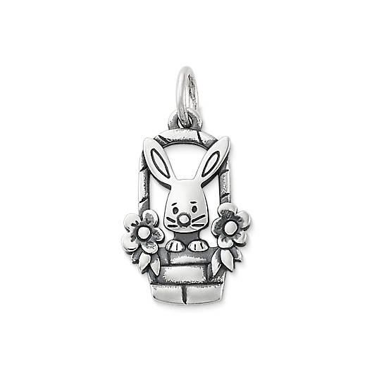 View Larger Image of Easter Bunny Basket Charm