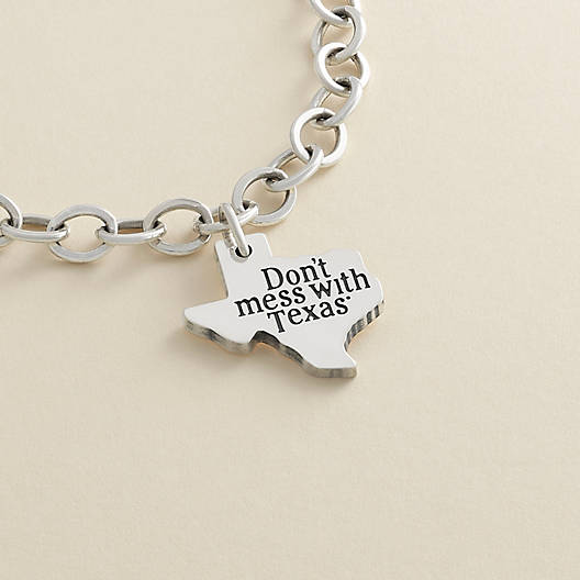 """View Larger Image of """"Don't mess with Texas""""® Charm"""