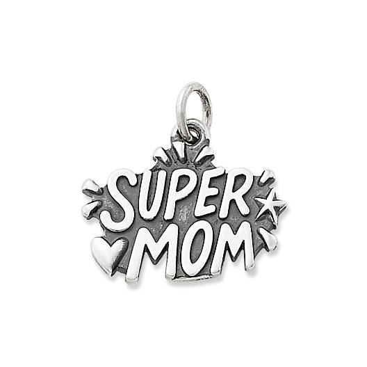 """View Larger Image of """"Supermom"""" Charm"""