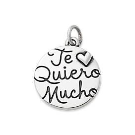 """Te Quiero Mucho"" Charm"