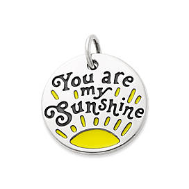 "Enamel ""You are my Sunshine"" Charm"