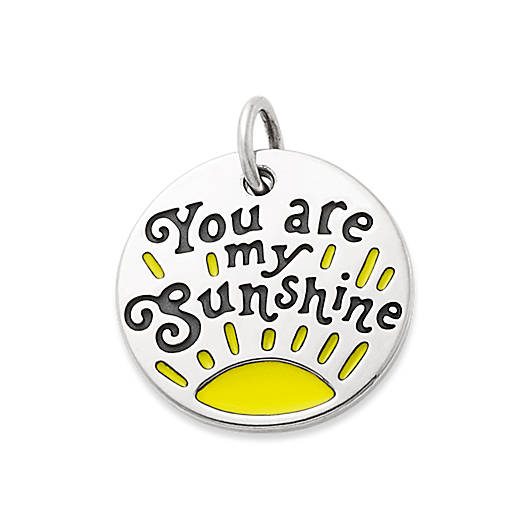"""View Larger Image of Enamel """"You are my Sunshine"""" Charm"""