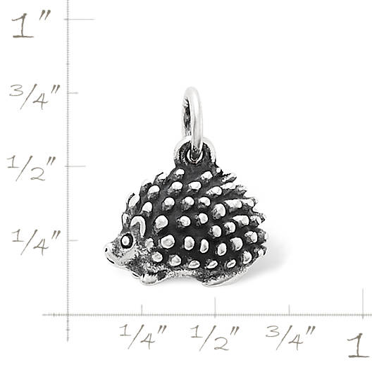 View Larger Image of Hedgehog Charm