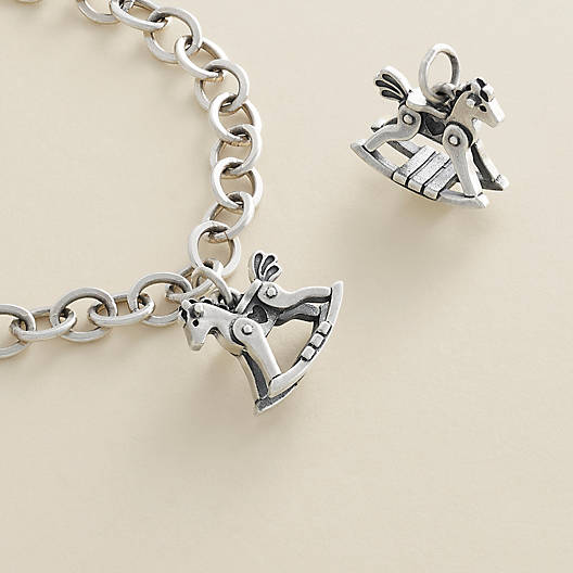 View Larger Image of Toy Rocking Horse Charm