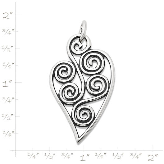 View Larger Image of Athenian Heart Pendant