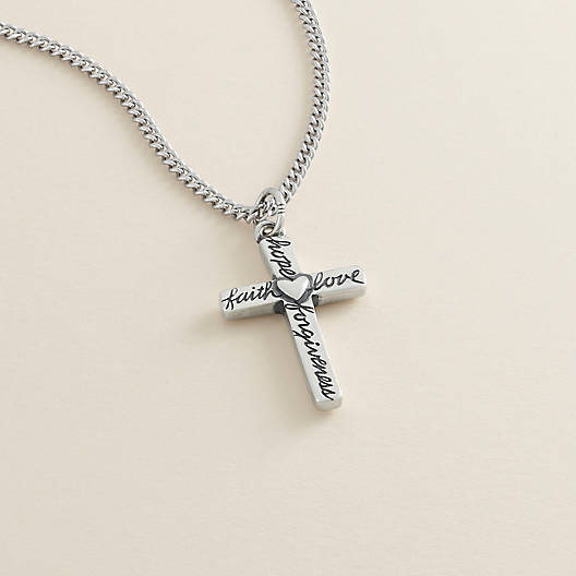 View Larger Image of From the Heart Cross