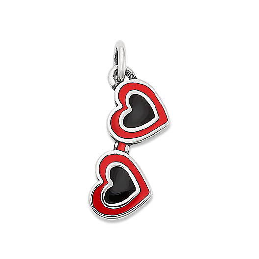 View Larger Image of Enamel Heart Sunglasses Charm