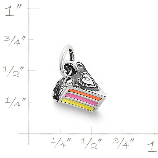 View Larger Image of Enamel Layer Cake Charm