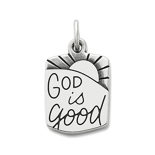 """View Larger Image of """"God is Good"""" Charm"""