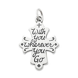 """""""With You Wherever You Go"""" Cross"""