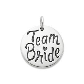 """Team Bride"" Charm"