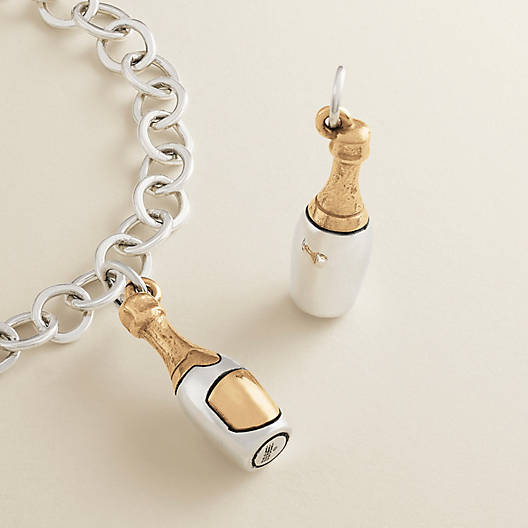 View Larger Image of Champagne Bottle Charm