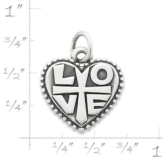 """View Larger Image of Faith in """"Love"""" Charm"""