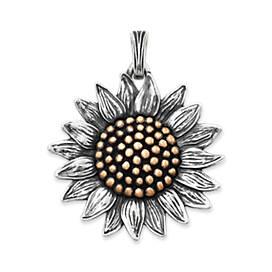 Wild Sunflower Pendant