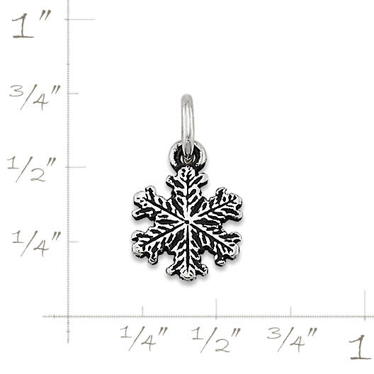 View Larger Image of Aspen Snow Crystal Charm