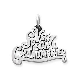 """Very Special Grandmother"" Charm"