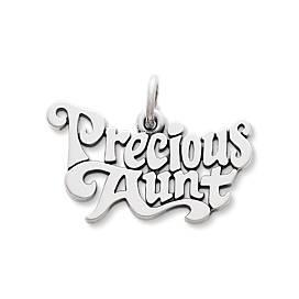 """Precious Aunt"" Charm"