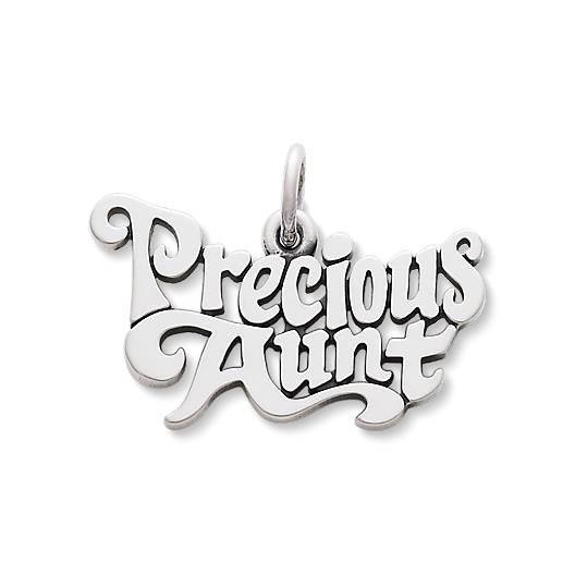 "View Larger Image of ""Precious Aunt"" Charm"