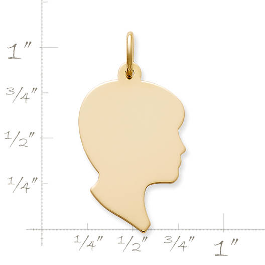 View Larger Image of Boy Silhouette Charm