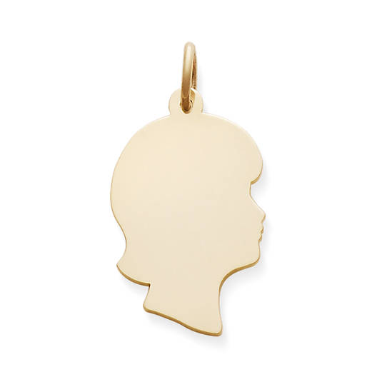 View Larger Image of Girl Silhouette Charm