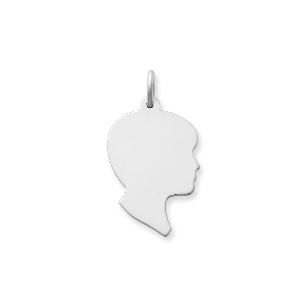 f04ab12f6 Next. View Larger Image of Boy Silhouette Charm ...