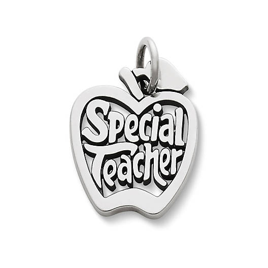 "View Larger Image of ""Special Teacher"" Charm"