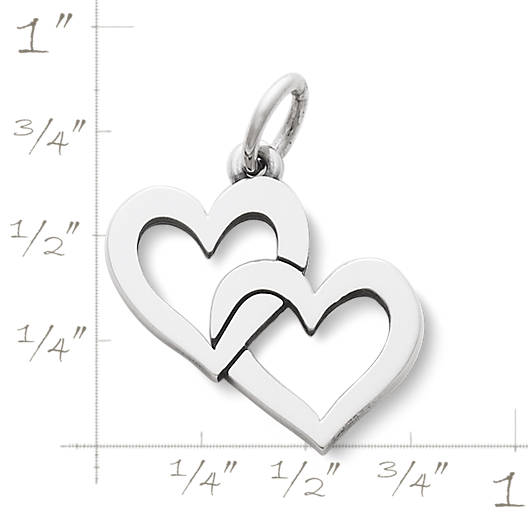 View Larger Image of Cupid Hearts Charm