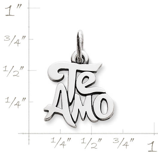 "View Larger Image of ""Te Amo"" Charm"