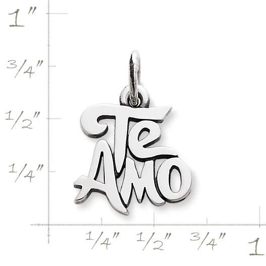 "View Larger Image of ""Te Amo"" Charm"