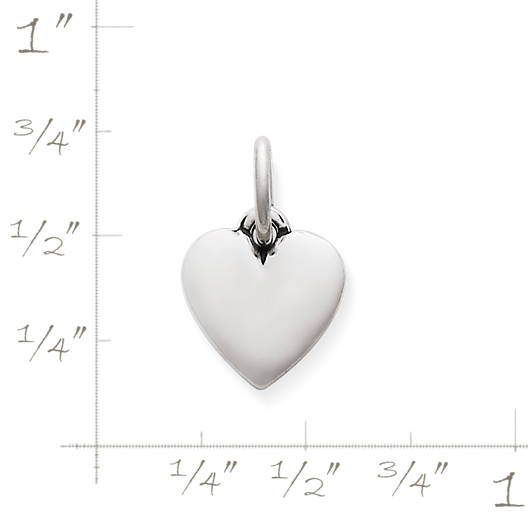 View Larger Image of Puffed Heart Charm