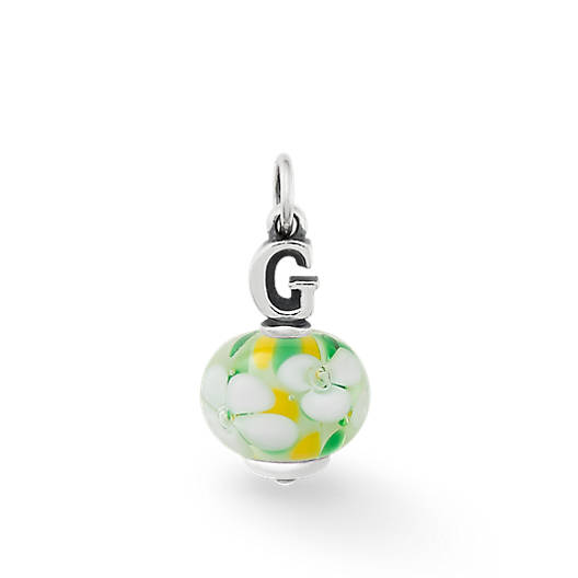 """View Larger Image of Initial """"G"""" Finial"""