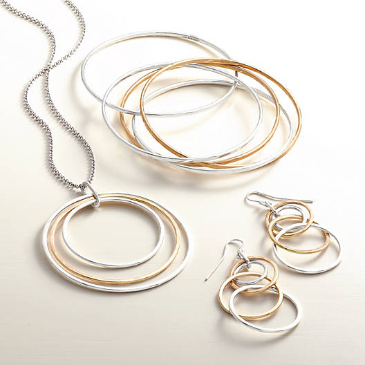 View Larger Image of Cascading Circles Pendant