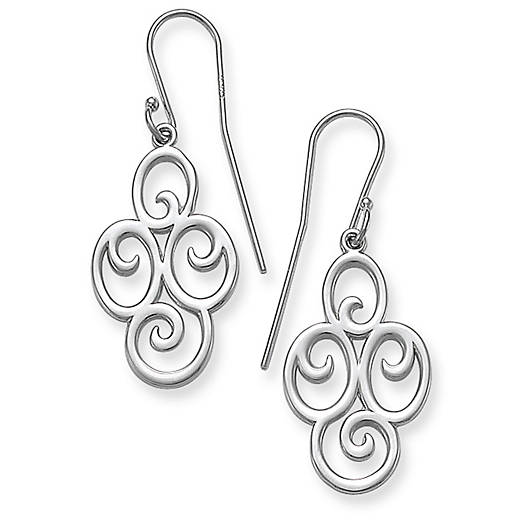 View Larger Image of Four Swirl Ear Hooks