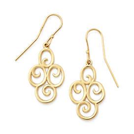 Four Swirl Ear Hooks