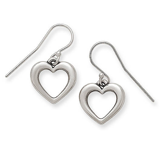View Larger Image of Heart Ear Hooks